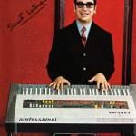 1970 santi latora dimostratore farfisa con il professional