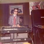 1970 santi latora dimostratore farfisa con il professional piano