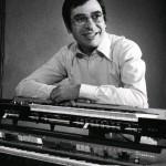 1974 santi latora dimostratore farfisa con il vip 600 e il syntorchestra