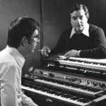 1974 santi latora e gervasio marcosignori con il vip 600 e il syntorchestra