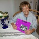 Alberta Bagaloni montaggio contattiere Farfisa con il manuale modello 150