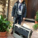 Aldo Dubbini lucidatura pianoforti Farfisa con il TR 60
