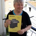 Angela Moroni saldatura schede Farfisa con lo schema Scala
