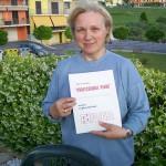 Anna Maria Mazzieri pettinatura martelli pianoforti Farfisa con il manuale Professional Piano
