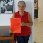 Anna Paola Fioretti montaggio organi Farfisa con il manuale Pergamon