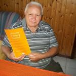 Armando Cangenua manutensione stabilimento Farfisa con il manuale Hermitage