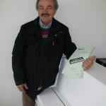 Arnaldo Fioranelli carico e scarico magazzino Farfisa con lo schema Gulliver 61