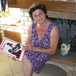 Bianca Maria Principi linea montaggio organi Farfisa con il manuale Bravo