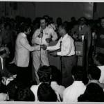 cantagiro 1967 gino baldoni dirigente farfisa con mino reitano