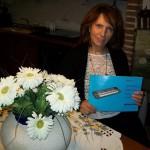Diana Paolini impiegata Farfisa con il manuale SG 49