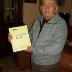 Dino Giachetta guardia giurata Farfisa con lo schema CH 32