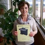Emanuela Brunelli impiegata ufficio approvigionamenti Farfisa con lo schema Windsor
