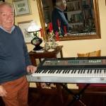 Enrico Cancellieri controllo materiali in ingresso Farfisa con il Professiona Piano