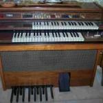 Fk 40 organo Farfisa