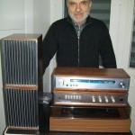 Giovanni Bonifazi gestione ricambi Farfisa con impianto stereo Servo Sound