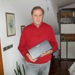 Giuseppe Massini responsabile di laboratorio Farfisa con Mmu 100