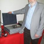 Giuseppe Rovatti progettista di laboratorio Farfisa con Eco