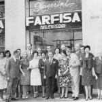 inaugurazione deposito di milano farfisa 12 9 1960