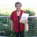 Lina Borgognoni saldatura trefoli Farfisa con il manuale Superpartner