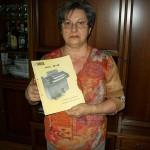 Luisa Palazzi collaudo piastre Farfisa con lo schema Fk 40