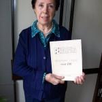 Marcella Carloni jolly di linea Farfisa con lo schema modello 256