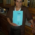 Maria Cacchiarelli saldatura trefoli Farfisa con il manuale Farnese/Commander
