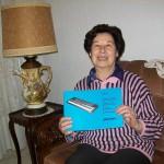 Maria Gabriella Silvestrelli saldatura schede Farfisa con il manuale Sg 61