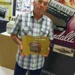 Mariano Taffi accordatore a domicilio Farfisa con manuale modello 255