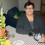 Mariella Alunni linea montaggio organi Farfisa con la cuffia microfonata per Ts 10