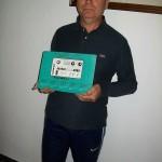 Mauro Guerrini riparatore schede Farfisa con  il manuale Partner 15