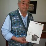 Paolo Bondi disegnatore schemi elettrici Farfisa con il manuale 5250