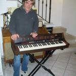 Paolo Pesaresi collaudatore Farfisa con il Soundmaker