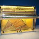 Pianoforte trasparente Furstein Farfisa