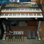 Professional Duo organo Farfisa