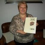 Renata Polenta jolly di linea Farfisa con il manuale 259 R/6290 R