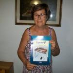 Rina Giorgini saldatura trefoli Farfisa con il manuale Capitol P
