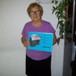 Rita Gioia incollatura tastiere Compact con lo schema Silver 404