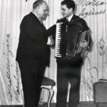 roma dicembre 1954 gervasio marcosignori con beniamino gigli
