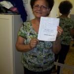 Sandrina Alessandrini spedizione ricambi Farfisa con lo schema Professional N