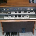 Silver 404 organo Farfisa