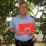 Stefano Pesaresi pinsatura pianoforti Farfisa con il manuale Professional 110