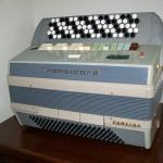 Transicord fisarmonica elettronica Farfisa