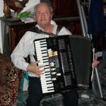 Valdimiro Donzelli collaudatore fisarmoniche Farfisa con la Syntaccordion