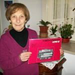 Verdiana Paccamicci linea montaggio organi Farfisa con il manuale 4290 R