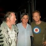 Claudio con Brian e Karma Auger