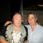Claudio con Brian Auger