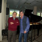 Claudio con Stelvio Cipriani