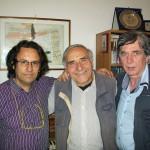 Claudio con Adalberto Guzzini e Jerry Butera