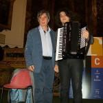 Claudio con il concertista Antonino De Luca