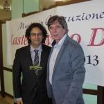 Claudio con Jerry Butera al Castelfidardo Day 2013